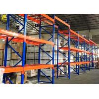 Buy cheap High Density Heavy Duty Pallet Rack Shelving , Blue Color Heavy Duty Racking System from wholesalers