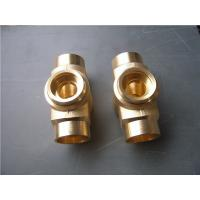 Buy cheap Lost wax investment casting process copper tube joint normal polish product