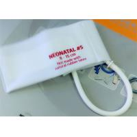 Buy cheap Neonatal 3 Pediatric Blood Pressure Cuff Disposable , NIBP CUFF for Hospital from wholesalers