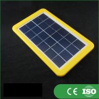 Buy cheap Portable Narrow Solar PanelsSilver Frame 183*170mm Size Low Iron Tempered Glass from wholesalers
