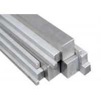Buy cheap 12mm - 35mm Square Stainless Steel Bar For Shaft / Lathe 2m - 6.5m Length from wholesalers