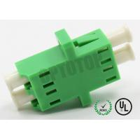 Buy cheap 2F Duplex Fiber Optic Adapter / Plug For Optical Network Wiring , No Shutter from wholesalers