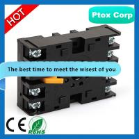 Buy cheap relay base PYF08A/ MY2 relay base socket/8 pins relay base socket from wholesalers