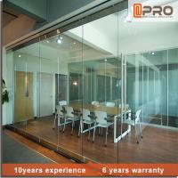 Buy cheap Soundproof Modern Office Partitions With Aluminum Alloy And Glass Door Material from wholesalers