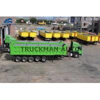 Buy cheap Optional Colors Dump Semi Trailer Front Lifting 5 Axles 70 Tons Easy Repair from wholesalers