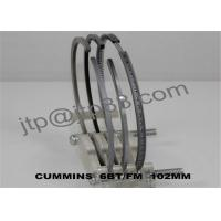 Buy cheap Spare Parts Piston Ring Kits 102mm DIA With Boron - Copper Chrome Cast Iron Alloy from wholesalers