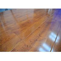 Buy cheap Natural High Density Glueless Wood Decorative Laminate Flooring in Bedroom / Office,Shiny Finish from wholesalers