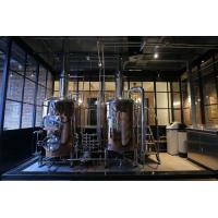 Buy cheap 380V 50Hz Three Phase Micro Beer Brewing Equipment Pickling Passivation Inner Surface from wholesalers
