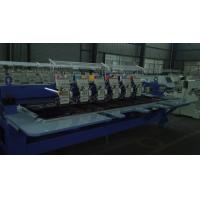 Buy cheap 920 / 912 / 906 Flat Embroidery Machine , Multi Color Embroidery Machine With LCD Screen from wholesalers