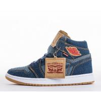 Buy cheap Wholesale Levi's x Air Jordan 1 Retro NRG Denim Basketball Shoes & Sneakers for Sale product