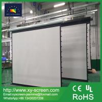 Buy cheap Electric Tab Tensioned Screen/Cinema Projection Screens/Motorized Tensioned Projection Screens 4K Cinema from wholesalers