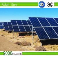 Buy cheap Ground Mounted Bracket for 100MW Solar PV Power Plant from wholesalers