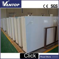 Buy cheap VT2802 Pure White Artificial Engineered Quartz Stone for Countertop from wholesalers