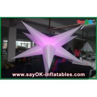 Buy cheap Party Event Decoration Inflatable Hanging LED Light Star For Advertising from wholesalers