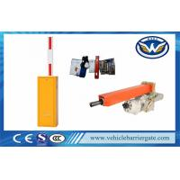 Buy cheap Security 220v RS 485 Car Park Barriers For Parking Lot Management from wholesalers