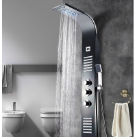 Buy cheap Hotel ODM 304SUS Shower Panel Faucets With Led Light from wholesalers
