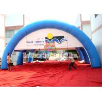 Buy cheap Sealed Air Advertising Inflatable Airtight Tent PVC Sport Spider Tent Water Resistance product