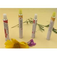Buy cheap Recyclable Aluminum Eye Ointment Tube Epoxy Phenolic Resin Internal Lacquer from wholesalers