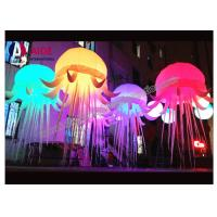 Buy cheap Bar Decoration LED star Inflatable Lighting Octopus Blow Up Le poulpe from wholesalers