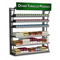 Buy cheap 4FT LP 480 Packs Cigarette Display Rack Tobacco Fixtures Powder Coated Frame from wholesalers