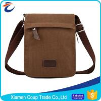 Buy cheap Multifunction Brown Laptop Messenger Bags Washable And Large Capacity from wholesalers