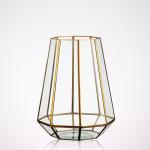 Buy cheap Irregular Geometric Glass Terrarium , Tabletop Diy Geometric Terrarium from wholesalers