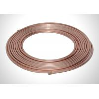 Buy cheap Industrial Flexible Refrigerant Tubing , Thick Wall 7 8 Refrigeration Copper Tubing from wholesalers
