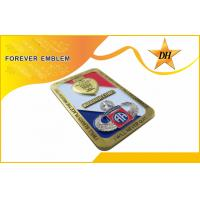Buy cheap Two Pieces Soft Enamel Military Custom Metal Coins With 3D Effect from wholesalers