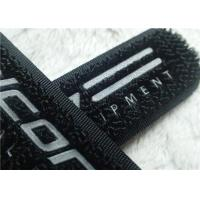 Buy cheap High Frequency Hook And Loop Fastener 3M Reflective Siliver TPU Logo Velcro For Clothes from wholesalers
