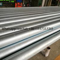 Buy cheap LCG Galvanized Continuous Slot Wire Wrapped Johnson Well Screens from wholesalers