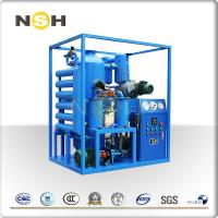 Buy cheap Blue Insulating Oil Portable Transformer Oil Purifier With 1 Year Warranty from wholesalers