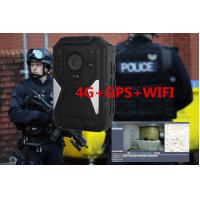 Buy cheap Full HD 1440P 4G Body Camera , IP67 Weatherproof law enforcement camera product