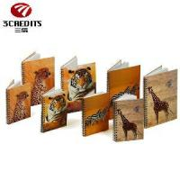 Buy cheap A4/A5/B5 Black Double Spiral Notebook, Loose-Leaf Notebook with Animals from wholesalers