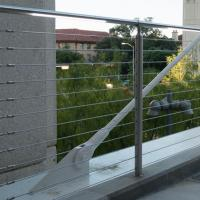 Buy cheap Low Price Stainless Steel Cable Railings Stainless Steel Staircase Railing Designs from wholesalers