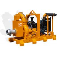 Buy cheap diesel engine dewatering slurry pump from wholesalers
