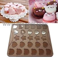 Buy cheap Wholesale Heat Resistant Silicone Kitchenware Mat/30 Capacity Cartoon Macaron Baking Mat from wholesalers