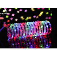 Buy cheap 100LEDs Solar Rope Christmas Lights, 10M Solar Powered Christmas String Lights from wholesalers