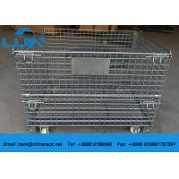 Buy cheap Collapsible Assemble Wire Mesh Cages Storage, AS4084 Approval Metal Wire Cage from wholesalers