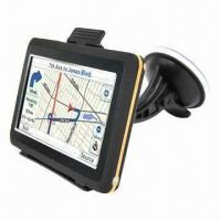 Buy cheap 4.3-inch TFT Touchscreen GPS Navigator, FM/Analogue TV (Optional) Functions and Free Arab Map from wholesalers