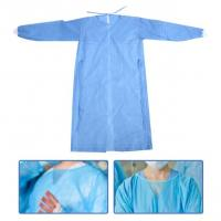Buy cheap Breathable Waterproof Isolation Gown Single Use Hospital Use Light Weight product