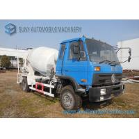 Buy cheap Dongfeng 153 Blue Cab 6 Wheeler 6 M3 Concrete Mixer Truck Cummins Engine from wholesalers