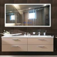 Buy cheap Anti Fog Shower Mirror With Radio , Led Lighted Bathroom Mirror from wholesalers