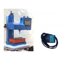 Buy cheap Chassis Number Pneumatic Marking Machine Copper Brass Metal Tag Dot Peen Engraving from wholesalers