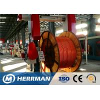 Buy cheap Metal Sheathing Cable Armouring Machine For High Voltage Power Cable from wholesalers