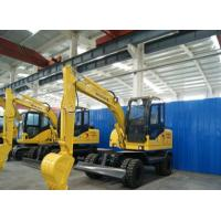 Buy cheap wolwa grop mini wheel excavator with low price from wholesalers