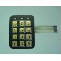 Buy cheap Electrical PC / PVC Waterproof Membrane Switch With 3M9448 / LES300 Adhesive from wholesalers