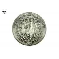Buy cheap Coast Guard Engraved Custom Challenge Coins Silver Collector Coins Embossed Logo Printed product
