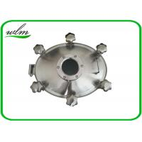 China Sight Glass Stainless Steel Manhole Cover High Pressure Elliptical Shaped on sale