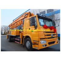 Buy cheap Sinotruk concrete pump truck Superior 24 meters with HOWO chassis  truck mounted pump from wholesalers