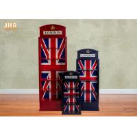 Buy cheap Antique Wooden Floor Cabinet Decorative Storage Cabinets Wood CD DVD Storage Rack Red Color from wholesalers